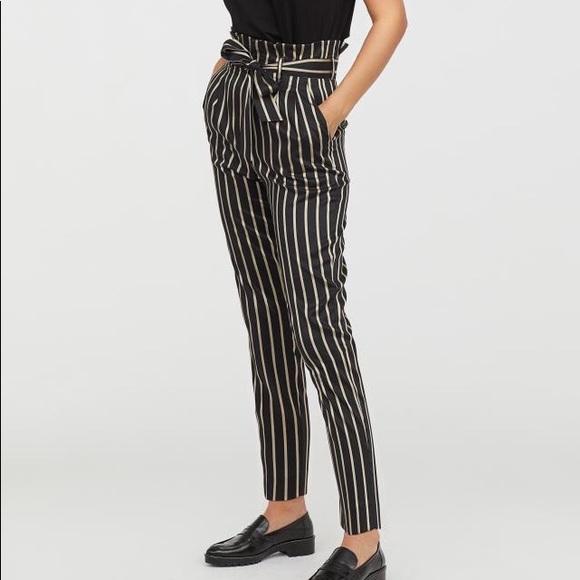 a6500dd21a2e H&M Pants   Hm Paperbag   Poshmark